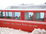 The Cog Railway train