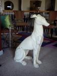 My new dog statue!